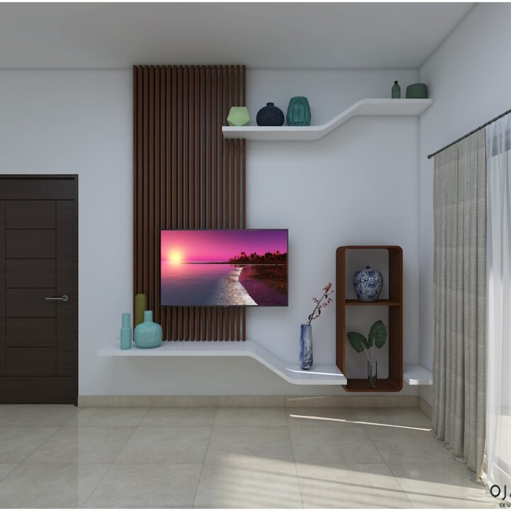 TV cabinet design by Ojasviha