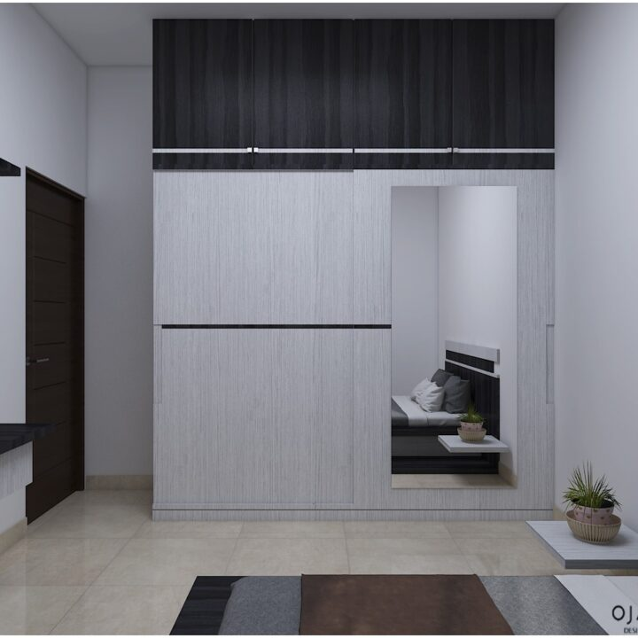 wardrobe interior design by ojasviha