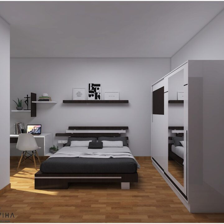 bedroom design by Ojasviha